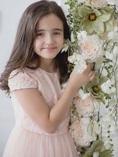 Sukienka CLEO morelowa – Rossa Kids #sukienka #RossaKids