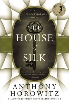 The House of Silk cover by Anthony Horowitz