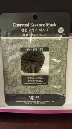 ON HOLD FOR SARAH - Korean charcoal Sheet Mask (got 2 in a trade & my face was too sensitive for it, so 2ndnone is up for trade)