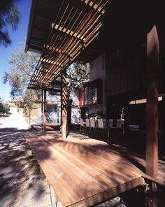 Marcus Beach House Original by BARK Design Architects