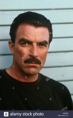 Download this stock image: Tom Selleck - B82BR9 from Alamy's library of millions of high resolution stock photos, illustrations and vectors.