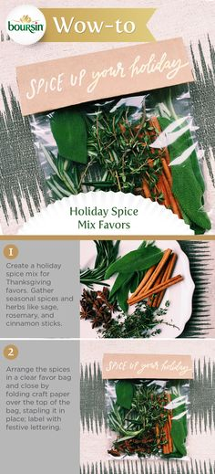 Spruce up your Thanksgiving holiday by sending your guests home with these seasonal spice mix favors.