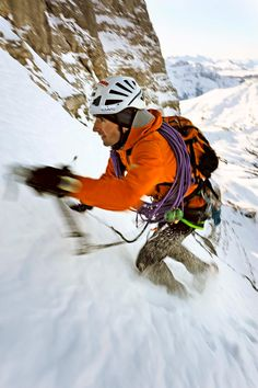 Ueli Steck: Eiger north face, Heckmair route, speed record in 2:47:33 hours, solo
