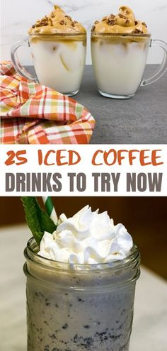 Frozen Coffee Drinks, Iced Coffee Drinks, Drinks Alcohol Recipes, Non Alcoholic Drinks, Cocktails, Coffee Recipes, Summer Drinks, Coffee Break, Beverage