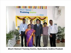 Team at Bharti Walmart Training Centre,Hyderabad, Andhra Pradesh  Image  source:- ww.centumlearning.com