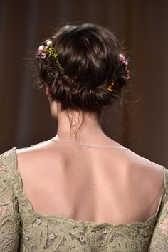 Boho beauty: http://www.stylemepretty.com/2015/02/02/paris-spring-couture-week-inspiration-for-the-bride/