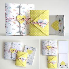 cute packaging .... (For letters) ;)