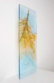 Mixed media on acrylic by Patrice Longo Dworkin