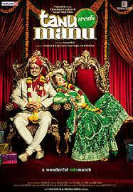 Tanu Weds Manu is a 2011 Indian romantic drama film directed by Anand L. Rai, and produced by Shailesh R. Singh. It stars R. Madhavan, Kangana Ranaut and Jimmy Shergill in the lead roles