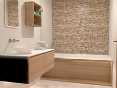 Fürdőszoba 3D Látványterv - 2018 Sink, Home Decor, Sink Tops, Vessel Sink, Decoration Home, Room Decor, Vanity Basin, Sinks, Home Interior Design
