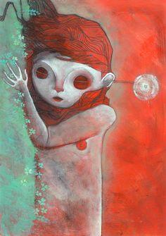 Los sueños son la representación del deseo inconsciente, pero esto va más allá. Me pasa inevitablemente todos los días: sueño con ella y no la conozco de una sola forma sino de varias. Ella cambia. A veces es rubia o morena, a veces es gorda o delgada, a veces es animal o cosa, pero sobre todo... | E: Adan Brontis I: John Marceline