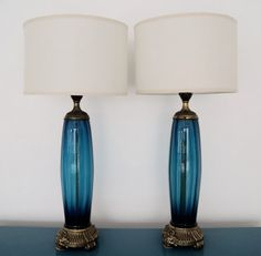 Gorgeous Pair of Mid-Century Hollywood Regency by CyclicFurniture