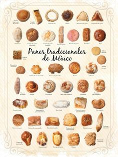 Traditional bread and bakeries - Gourmet de México - traditional bakeries in M. - Traditional bread and bakeries – Gourmet de México – traditional bakeries in Mexico tradition - de pan casero dulce Mexican Bakery, Mexican Pastries, Mexican Sweet Breads, Mexican Bread, Mexican Dishes, Authentic Mexican Recipes, Köstliche Desserts, Delicious Desserts, Yummy Food