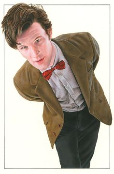 Amazing drawing of the doctor The Doctor by *caldwellart on deviantART Ninth Doctor, Bbc Doctor Who, Good Doctor, Doctor Who Fan Art, Alex Kingston, Rory Williams, Don't Blink, Amazing Drawings, Matt Smith