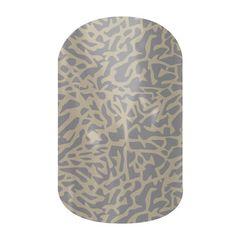 Elephant Gray  nail wraps by Jamberry Nails http://www.brennabryant29.jamberrynails.net