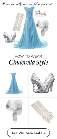 """""""Do I Love You Because You're Beautiful"""" by clairemjc on Polyvore featuring Dolce&Gabbana, cinderella and musicals"""