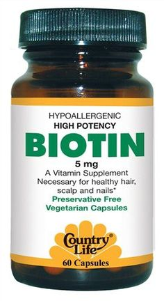 Organic, vegetarian Biotin. I've just noticed a larger amount of hair loss in the shower and around the house haha I shed a lot! so I've been taking Biotin to not only help stimulate good hair growth but to also help reduce the shed affect from teasing, straightening, blowdrying you name it. I have to say this has really made quite a difference. My hair is a lot thicker to get through with a comb and I feel the difference in weight, as though my hair feels heavier, not to mention my hair just l
