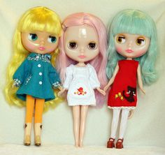 My Little Blythe Collection <3 by Cat Gabriel Art, via Flickr