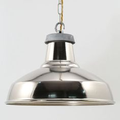 Silver Industrial Pendant Light - view all sale items