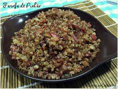 Farofa/Paçoca de Pinhão  http://www.chamaoscachorros.com.br/farofa-de-pinhao-simples-demais/