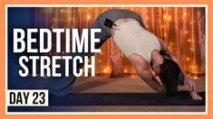 Bedtime Stretches, Bedtime Yoga, Yin Yoga, Yoga Meditation, Home Yoga Practice, Yoga Youtube, New Mobile, Vinyasa Yoga, Yoga Videos