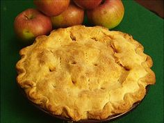Apple pie recipes from the Food Network. It's almost that time!