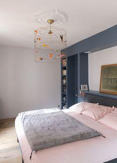 Chambre à coucher Appartement de 115m2- GCG Architectes