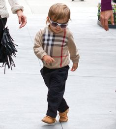 this is how i want my son to dress :) except i will be having girls so this really doesnt matter. lol.