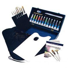 Royal & Langnickel Acrylic Brush/Paint Set - Paints & Mediums