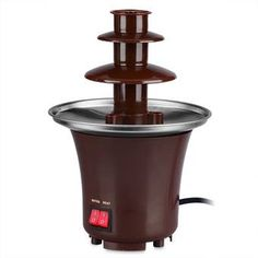 Mini Chocolate Fondue Fountain (Brown) #onlineshop #onlineshopping #lazadaphilippines #lazada #zaloraphilippines #zalora