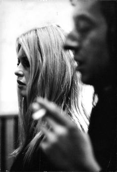 Bardot & Gainsbourg, 1967 #beauty #hair #enna #sicilia #sicily