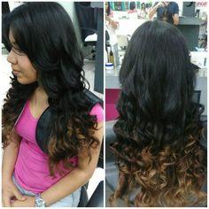 Waves hair