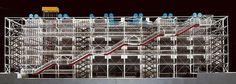 Galería de Clásicos de Arquitectura: Centre Georges Pompidou / Renzo Piano + Richard Rogers - 16