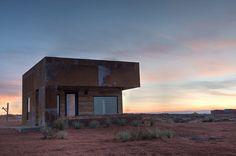 Students design micro cabins on Navajo reservation in Utah