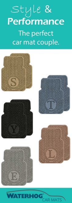 Shop now at https://www.waterhogcarmats.com/collections/personalized