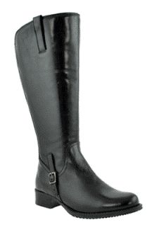 5bbe0d34593 Jordana Super Super Plus Wide Calf® Boot (Black) - Casual Boots