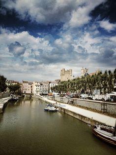 Narbonne à Languedoc-Roussillon chemin du maritime