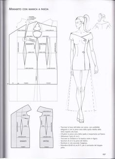 60 new ideas sewing techniques costura Sewing Dress, Dress Sewing Patterns, Sewing Clothes, Clothing Patterns, Diy Clothes, Techniques Couture, Sewing Techniques, Pattern Cutting, Pattern Making