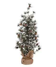 Love this Burlap Sack Tree Décor by GCA International on #zulily! #zulilyfinds