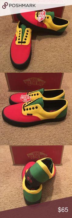 482a120eb8 Rasta Era Vans New in box. Red black Vans Shoes Sneakers Black Vans Shoes