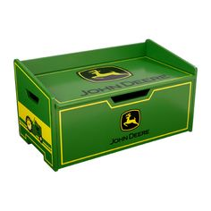 I have a toy box like this if anyone can paint it :-) http://shiloeagle.hubpages.com/hub/John-Deere-Baby-Toys-John-Deere-Baby-Items