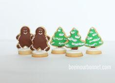Mini Cookie Snowglobes
