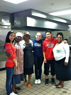 WMA students help out at the local soup kitchen!