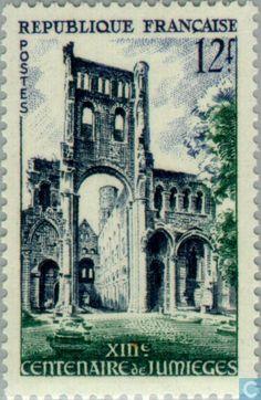 France [FRA] - Jumièges- Abbey 654 1954