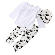 Baby Panda Clothing Set