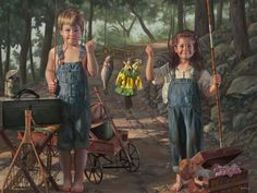 "http://iamachild.files.wordpress.com/2011/07/summer-snapshot.jpg ""Summer Snapshot"" by Bob Byerley"