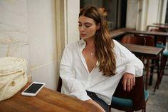 W bio post o białych koszulach, podlinkowałam kilka ulubionych modeli ✌