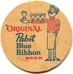 Pabst Blue Ribbon - c.1965 by roger4336, via Flickr