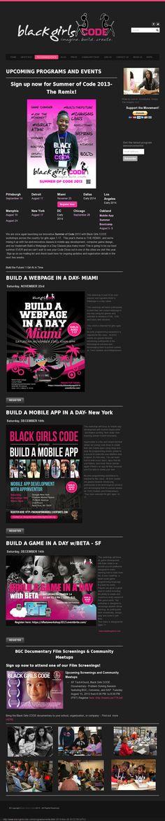 Black Girl Code Sf Games, Black Girls, Mobile App, Coding, Inspiration, Biblical Inspiration, Mobile Applications, Programming, Inhalation