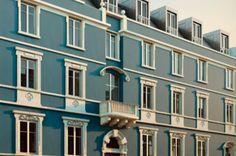 Taipas luxury apartments represent an opportunity to acquire prestigious living accomodations between Príncipe Real and Avenida da Liberdade within walking. Luxury Apartments, Lisbon, Facade, Buildings, Multi Story Building, Facades, Apartments